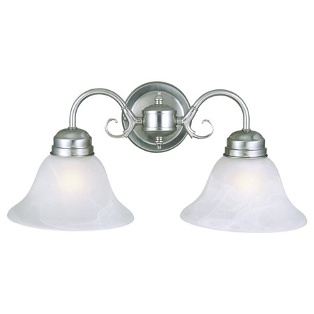 Design House 511600 Millbridge 2-Light Wall Light, Satin -
