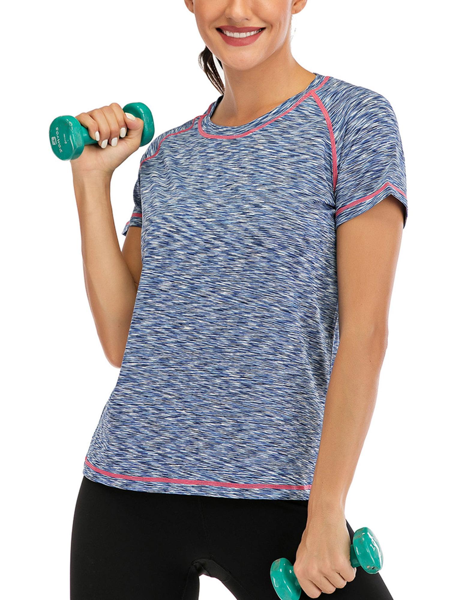 Skechers Womens Sports Vest Wide Hem Cotton Ladies T-Shirt Top Workout Dance Gym