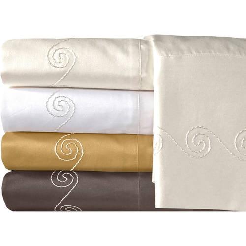 Veratex, Inc. Supreme Sateen 800-Thread Count Swirl Bedding Sheet Set