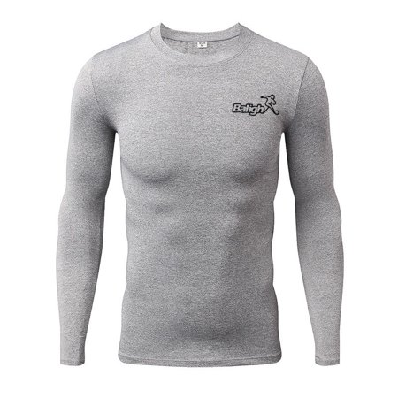 c1d4be326 TUNE BELT - Men's Cool Dry Skin Fit Long Sleeve Compression Shirt Tight T-shirt  Tops Clearance - Walmart.com