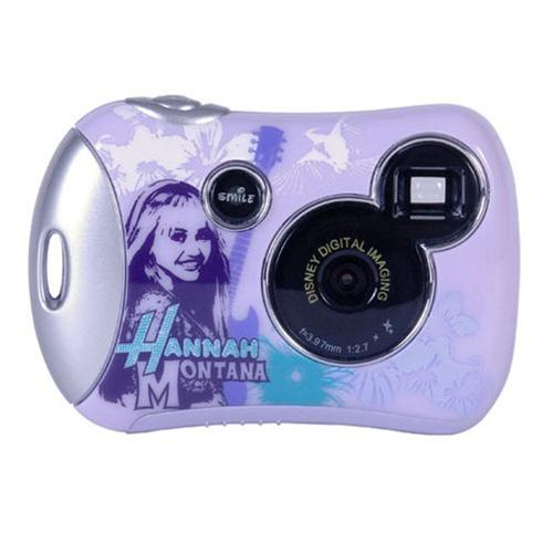 Disney Pix Micro Digital Camera featuring Hannah Montanna