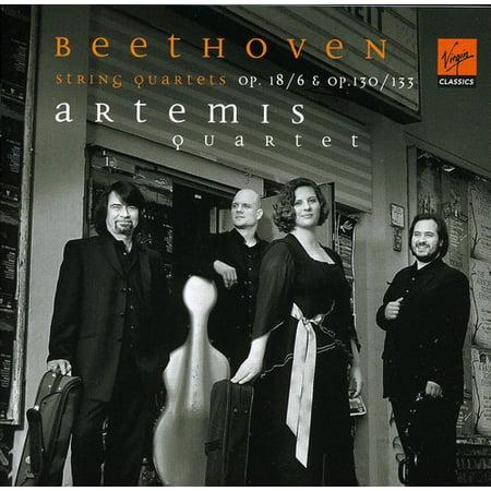 Artemis Quartet - Beethoven: String Quartets Op. 18/6 & Op. 130/Op. 133