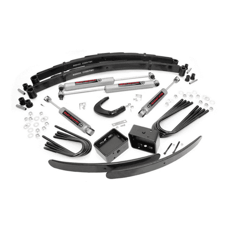 "Rough Country 6"" Lift Kit compatible w/ 1977-1987 Chevy GMC Trucks SUVs 1/2 Ton Suspension System 155.20 GM"