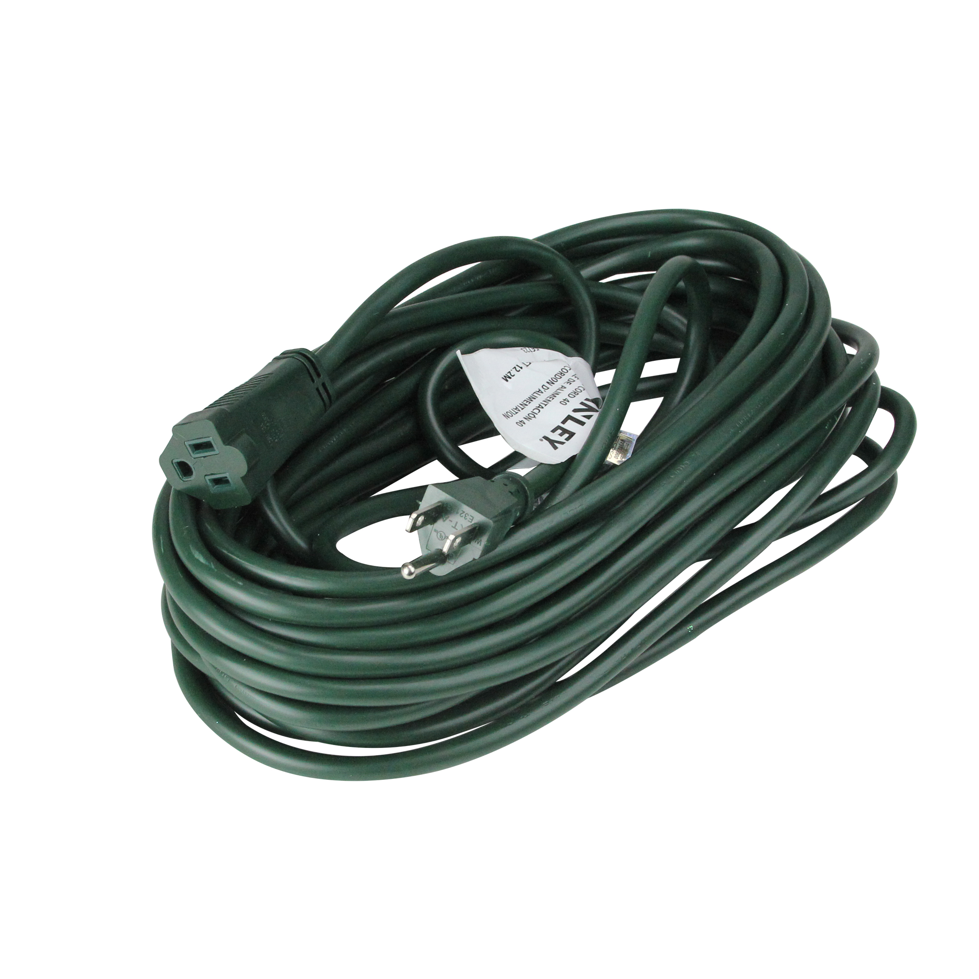 Stanley Green Outdoor Grounded Extension Cord 40'