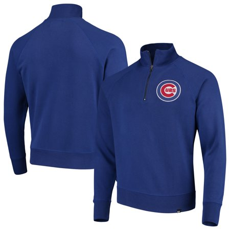 Chicago Cubs '47 MLB Headline Quarter-Zip Pullover Jacket - Royal