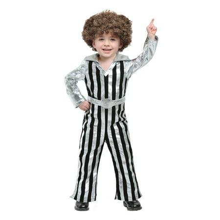 Dude Costume (Dazzling Disco Dude Toddler)