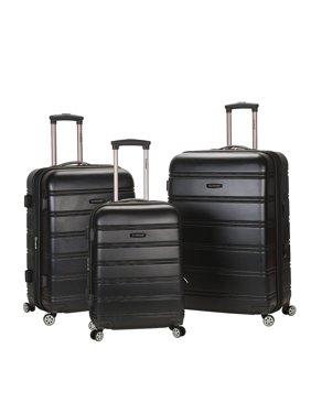 9d2f9490f Product Image Rockland Luggage Melbourne 3 Piece Hardside Luggage Set