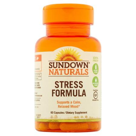 Sundown naturals stress formula reviews