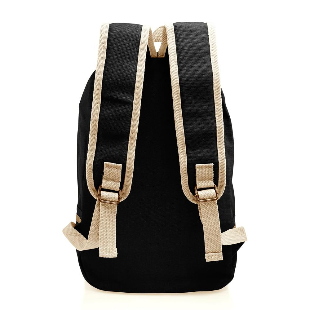 Fashion Women Canvas School Bag Girl Cute Satchel Travel School Backpack  with Pattern Shoulder Rucksack - Walmart.com 6bc62f11a2554