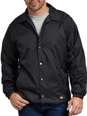 Big & Tall Men's Snap Front Nylon Jacket