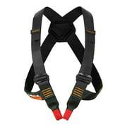 Fusion Climb Stika Chest Rescue Zipline Harness 23kN M-L Black