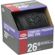 "Bell Sports Comfort Roundabout Premium Commuter Tire, 26"" x 1.75"", Black"