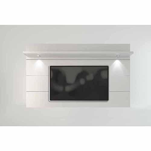 Manhattan Comfort Cabrini TV Panel 2.2, White Gloss by Manhattan Comfort