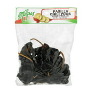 (2 Pack) Milpas Pasilla Chili Pods, 6.0 OZ