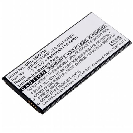 Dantona Cellular Battery - Dantona Industries CEL-SMG750 Replacement Cell Phone Battery for Samsung EB-BG750