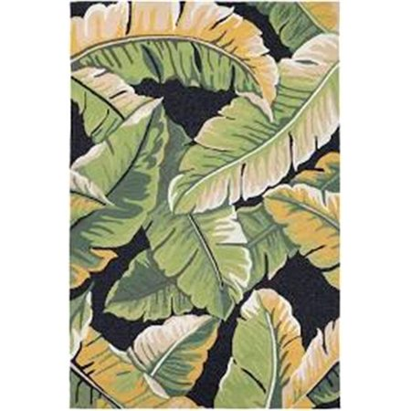 Couristan 49724000020040T 2 ft. x 4 ft. Covington Rainforest Rug, Forest Green & Black - image 1 de 1