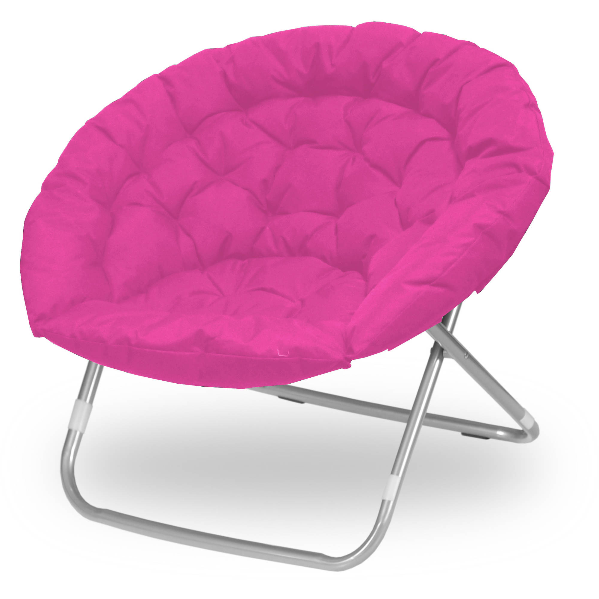 Urban Shop Oversized Adult Saucer Chair, Pink