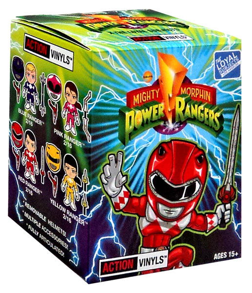 Power Rangers Mighty Morphin 3 Inch Vinyl Series 1 Mystery Pack by the loyal subjects