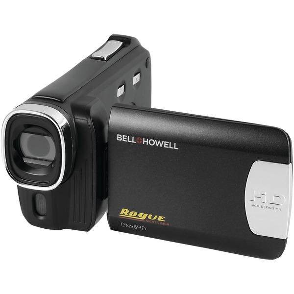 BELL+HOWELL DNV6HD-BK 20.0-Megapixel Rogue DNV6HD 1080p IR Night-Vision Camcorder