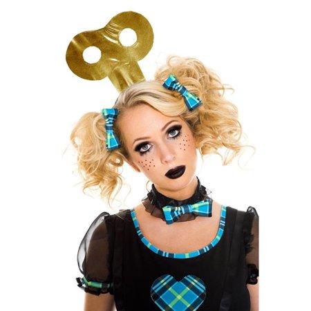 Wind-Up Doll Headpiece Accessory, Gold - image 1 de 1
