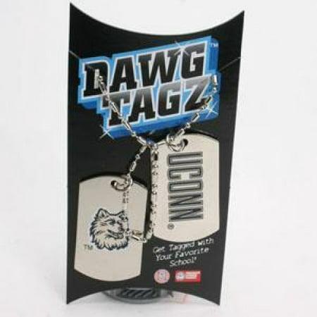 Uconn Huskies Dawg Tagz - Military Style Dog Tags Uconn Huskies Dawg Tagz - Military Style Dog Tags