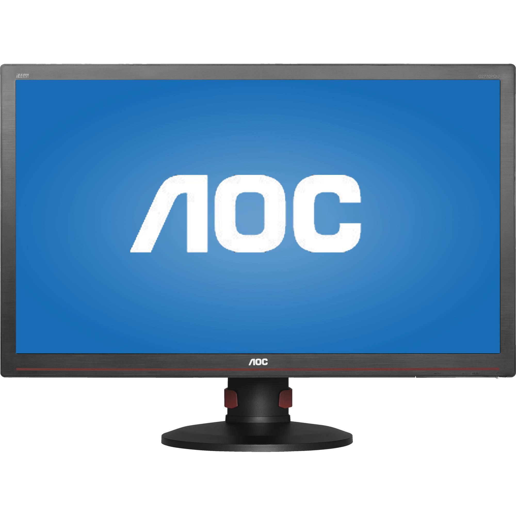 "AOC Gaming Monitor 27"" Class Full HD 1920x1080 1ms 144Hz VGA DVI-D HDMI"