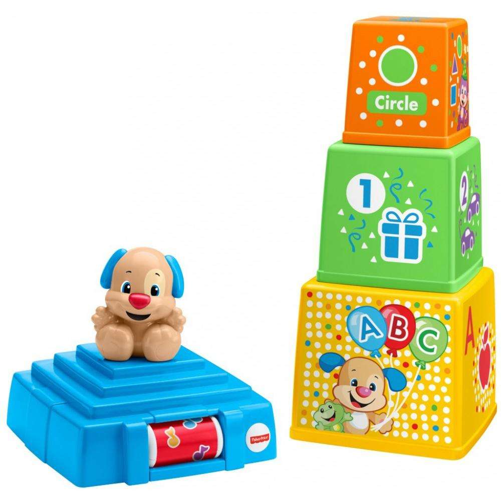 Fisher Price Laugh & Learn Stack & Surprise Presents by Fisher-Price