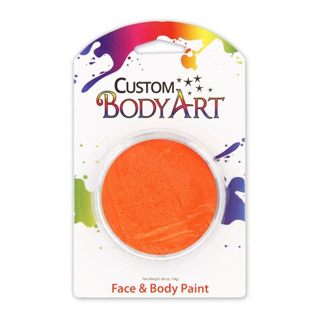 18ml Maquillage orange PAINT VISAGE peinture Parties Halloween