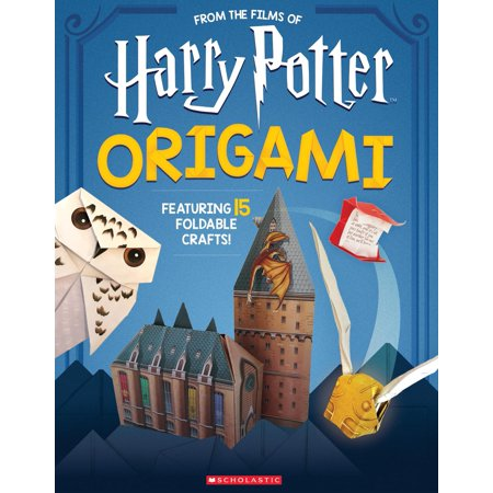 Harry Potter Origami: Fifteen Paper-Folding Projects Straight from the Wizarding World! (Harry (Wizarding World Of Harry Potter Hollywood Opening)