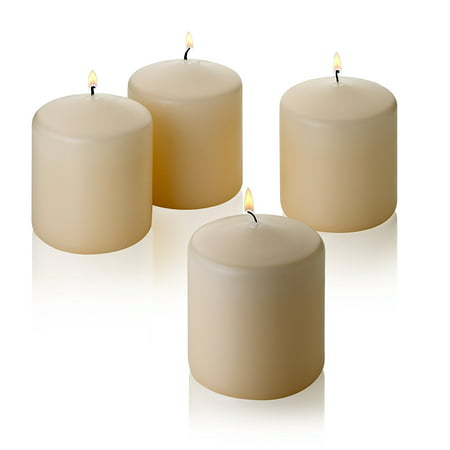 French Vanilla Pillar Scented Candles 3