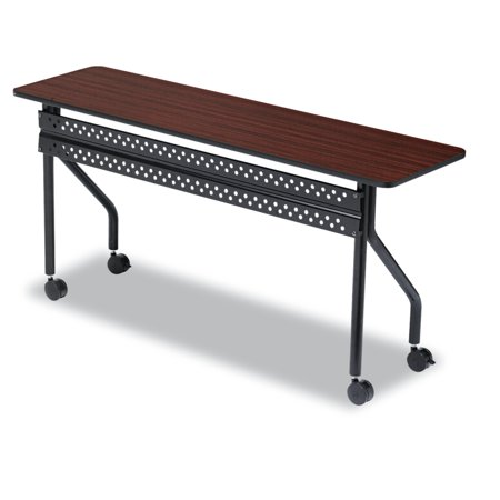 Iceberg OfficeWorks Mobile Training Table X Mahogany - 18 x 60 training table