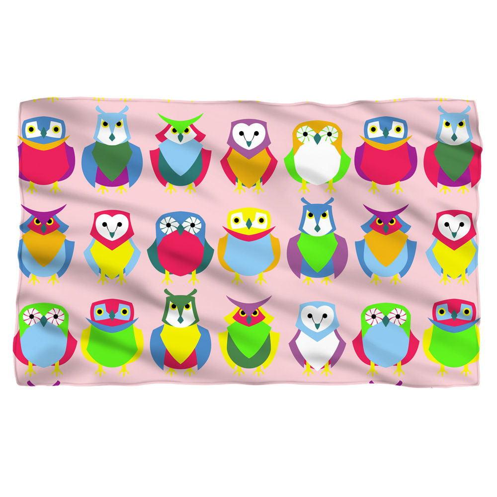 Owls Fleece Blanket