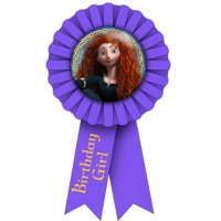 Brave Guest of Honor Birthday Girl Ribbon (1ct)
