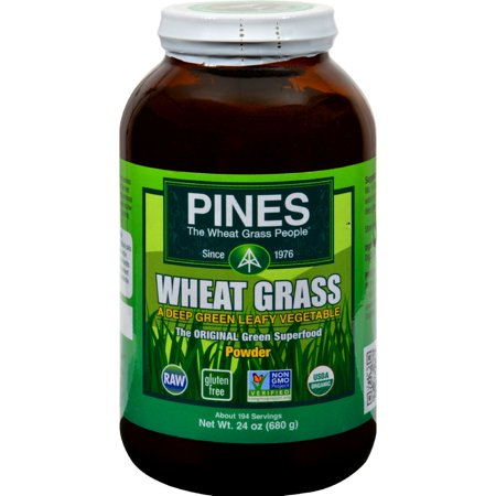 Pines International Wheat Grass Powder - 24 oz (Pines Wheat Grass Powder)
