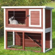 Trixie Pet Products Small Animal Hutch with Sloped Roof
