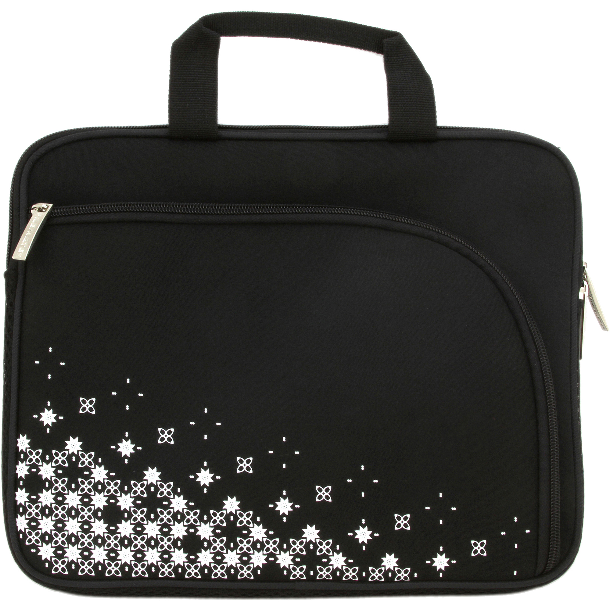 Filemate Imagine Series 10-in G810 Netbook/Tablet Carrying Case Black with Pattern