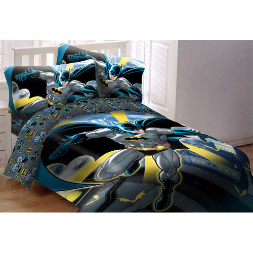 Crover Batman 3 Piece Twin Comforter Set