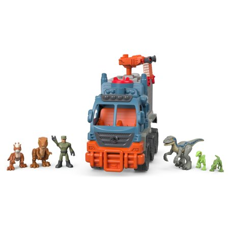 Imaginext Jurassic World Dinosaur Hauler Gift Set - Small Dinosaur Toys