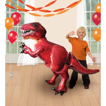 Discovering Dino T-Rex Airwalker Foil Balloon](Dinosaurs Balloons)