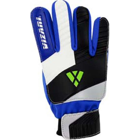 Vizari Junior Keeper Glove, Blue/White/Black, Size 10