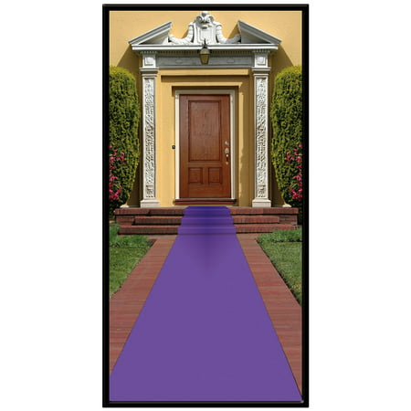 Purple Aisle Runner