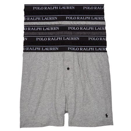 Polo Ralph Lauren Mens Classic Fit Cotton Boxers 5-Pack Style-RCKBP5 ()