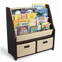 WonkaWoo Little Bookworm Sling Bookshelf, Espresso