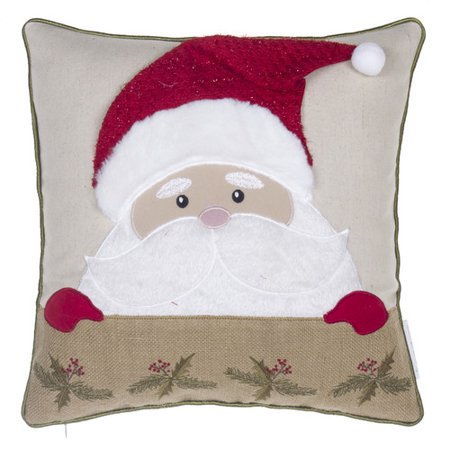 22 Santa Pillow (14 Karat Home Inc. Santa Claus Throw)