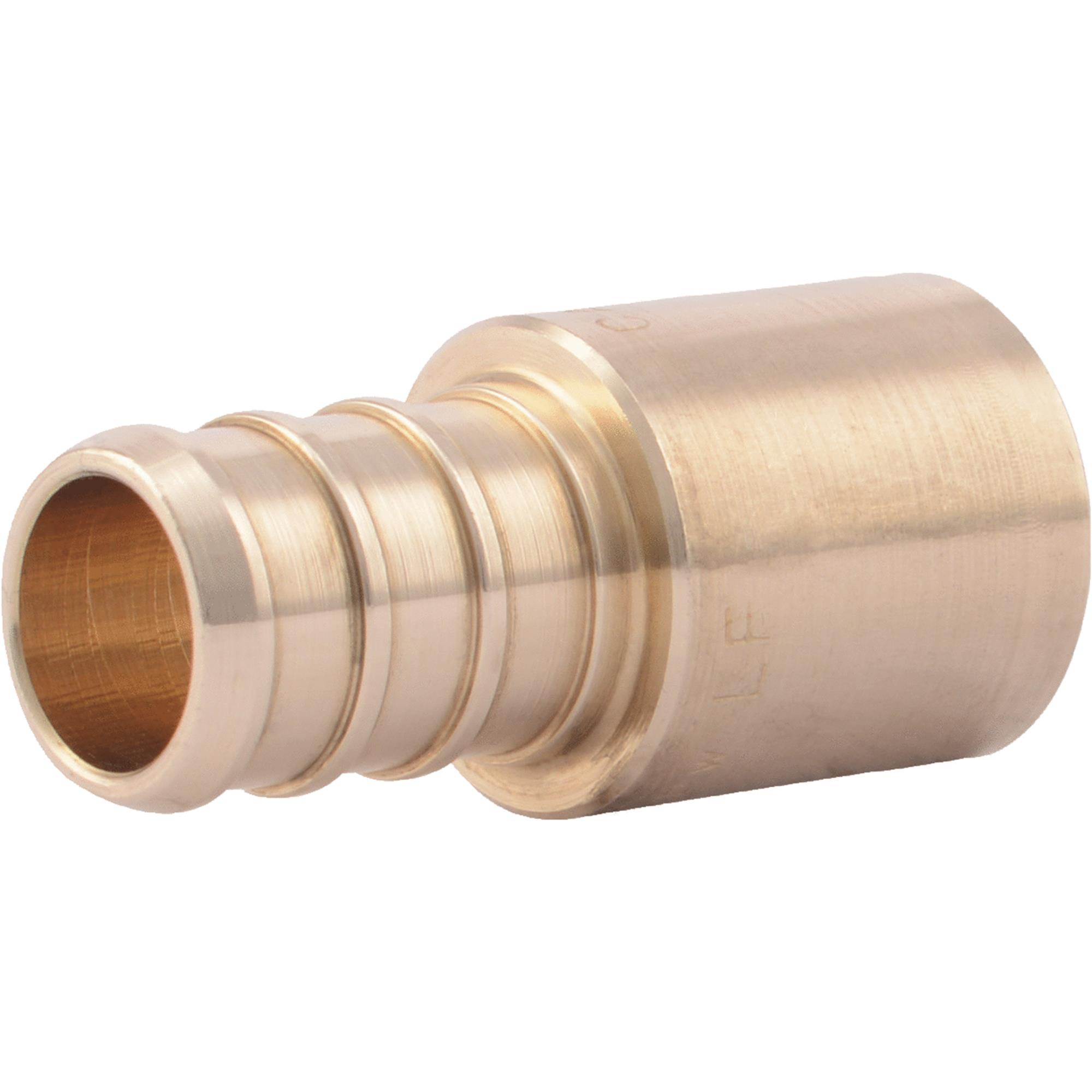 1/2-Inch Brass Pex Barb x 1/2-Inch Male Sweat Adapter