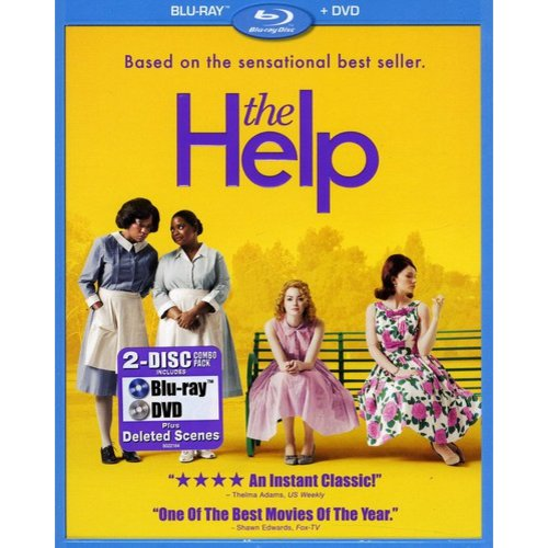 The Help (Blu-ray   DVD) (Widescreen)