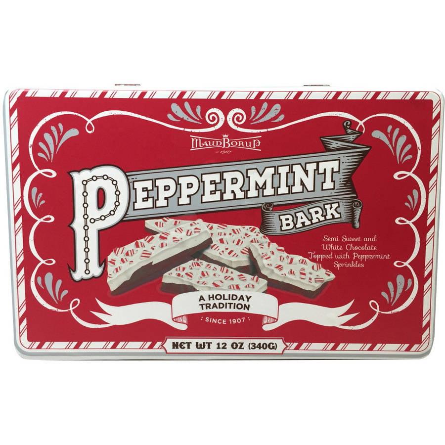 Maud Borup Peppermint Bark Candy, 12 oz