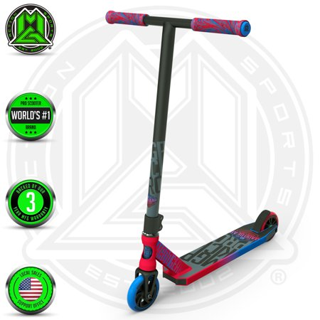 MGP Action Sports - Kick PRO Scooter - Suits Boys & Girls Ages 6+ - Max Rider Weight 220lbs - 3 Year Manufacture Warranty - Worlds #1 Pro Scooter Brand - Built To Last! - Madd Gear Est. 2002 ()