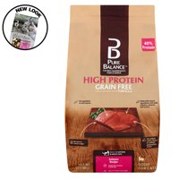 Pure Balance High Protein Grain Free Formula Salmon Recipe Food for Cats, 7 lb