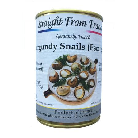 Escargot Dish (Straight from France Extra large Burgundy Snails Escargots 4 dozens, 14.1)